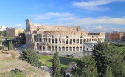 coliseo de roma, anfiteatro flavio
