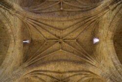 bóvedas de la iglesia de san pedro apóstol