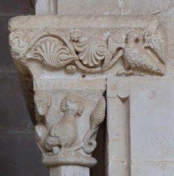 capitel románico santes creus