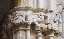 capiteles del claustro de santes creus