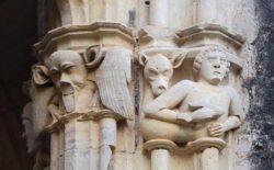 monasterio de santes creus, capiteles
