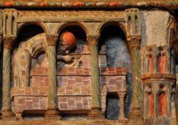 cenotafio de los santos vicente, sabina, cristeta