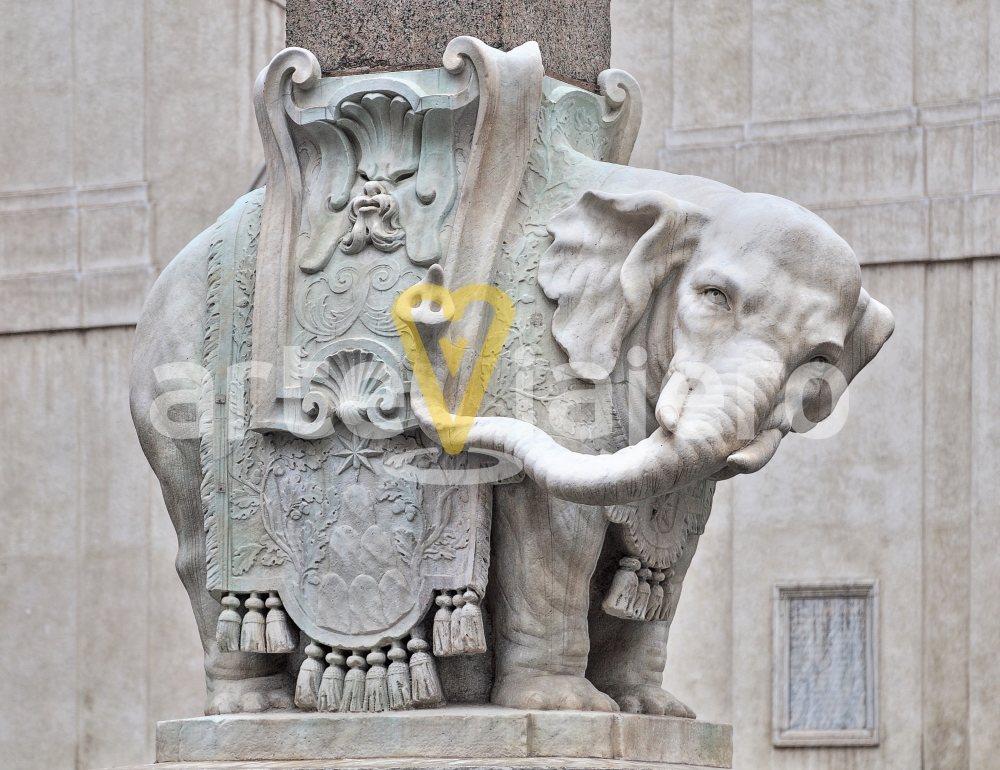 elefante de bernini