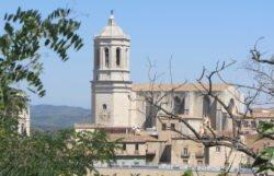 panorámica de la catedral de girona