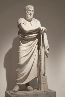 estatua de homero