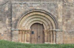 portada románica padilla de abajo