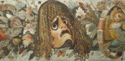 mosaico de la máscara