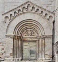 portada románico tarragona