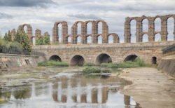 puente romano, río albarregas
