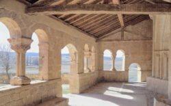 galería porticada románica