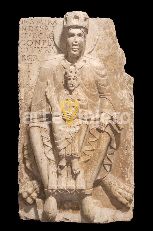 altorrelieve románico, monasterio de san benito