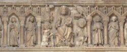 pantocrátor y apostolado
