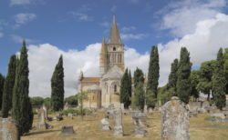 iglesia de aulnay de saintonge