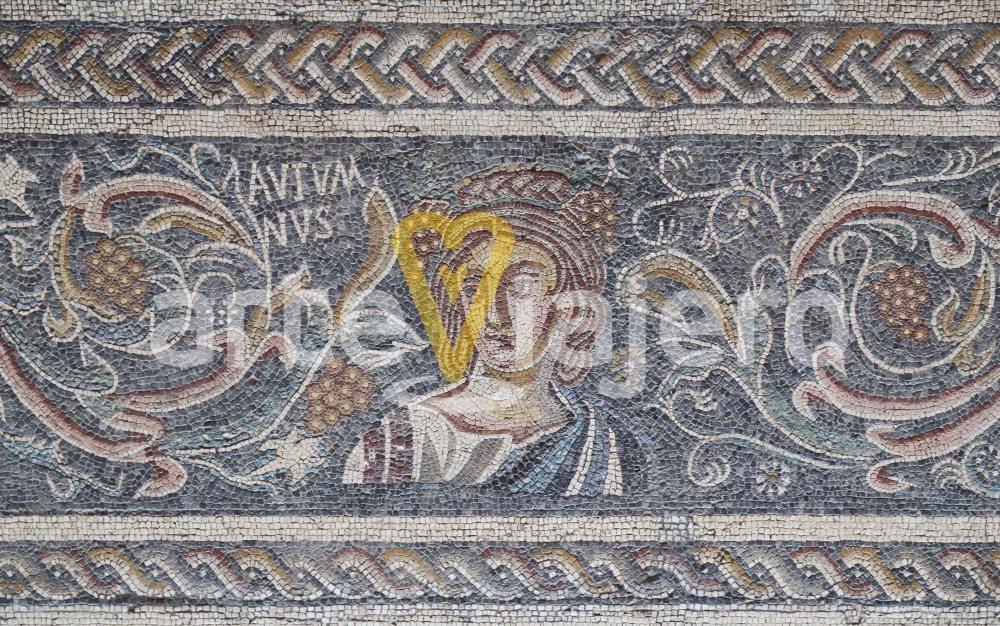 mosaico con el otoño