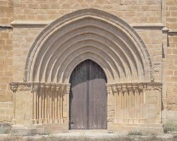 iglesia de cuzcurrita