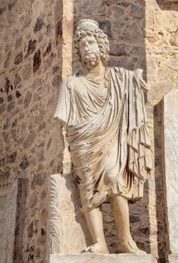 escultura de plutón