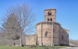 ábside románico, vizcaínos de la sierra