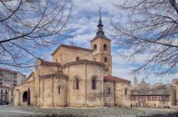iglesia románica de san millán, segovia