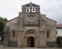 iglesia de santa maría de cambre galicia