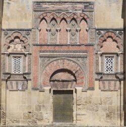 portada mezquita de córdoba