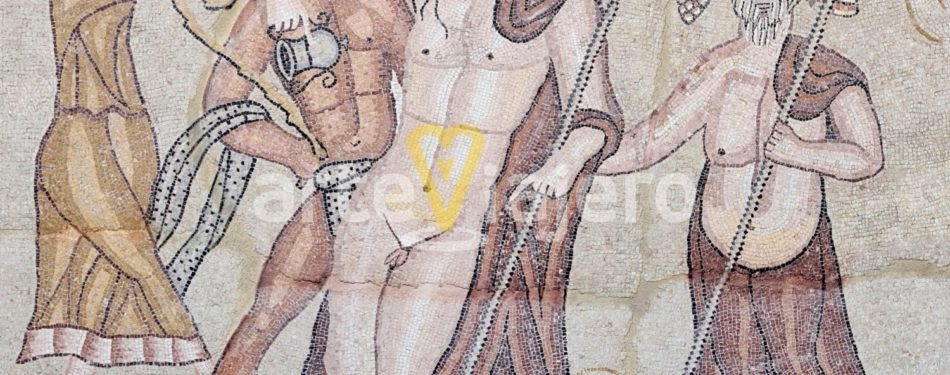 mosaico de baco, complutum