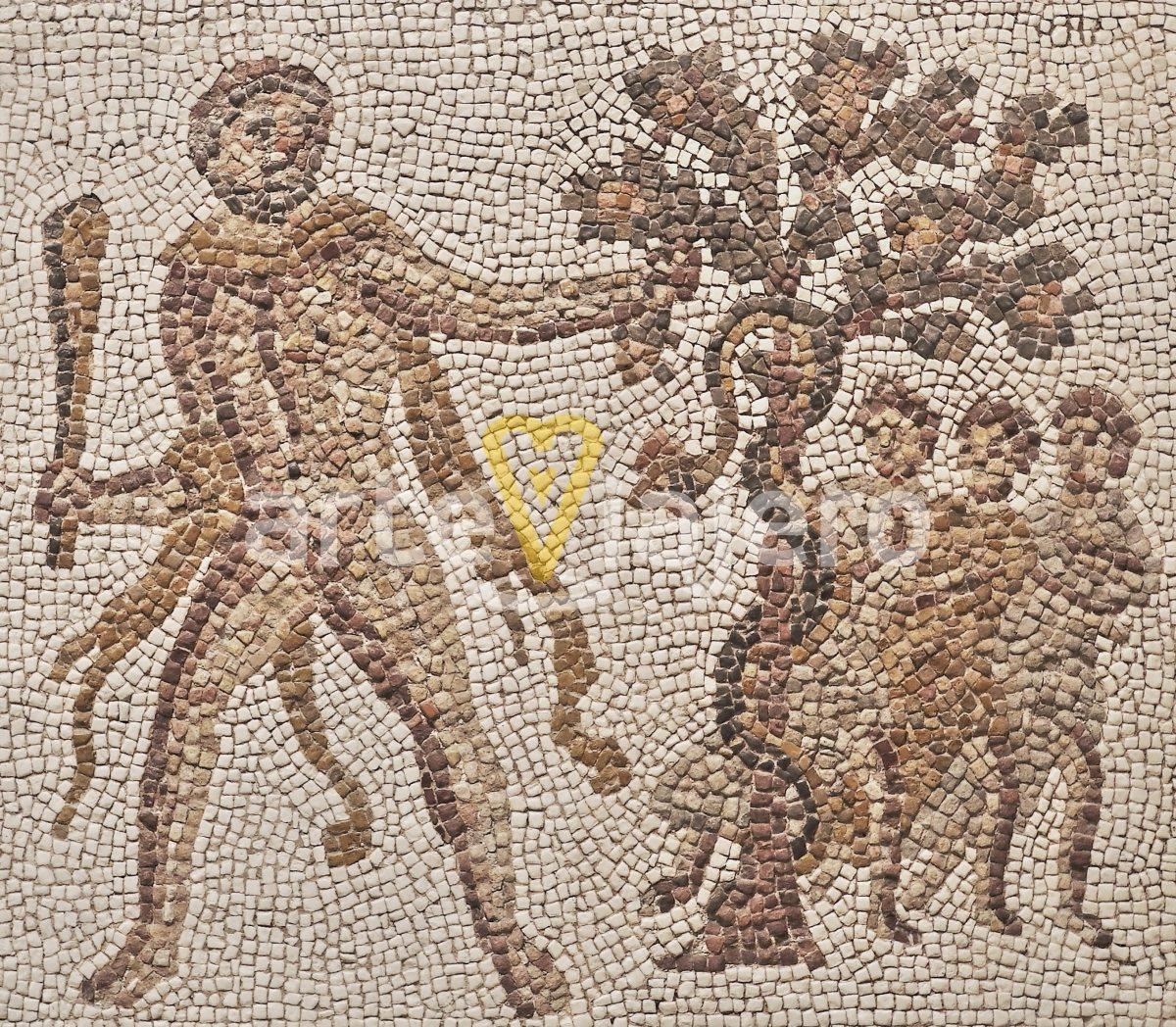 mosaico de liria