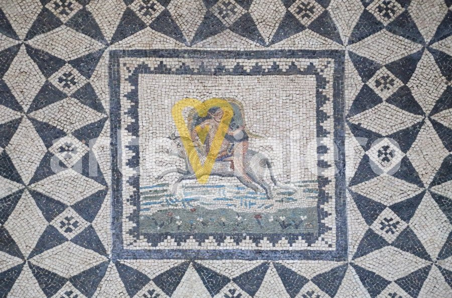 mosaico del rapto de europa