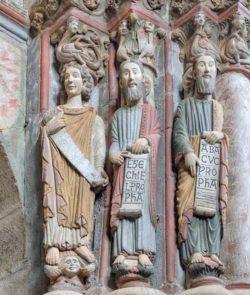 pórtico del paraíso de la catedral de orense