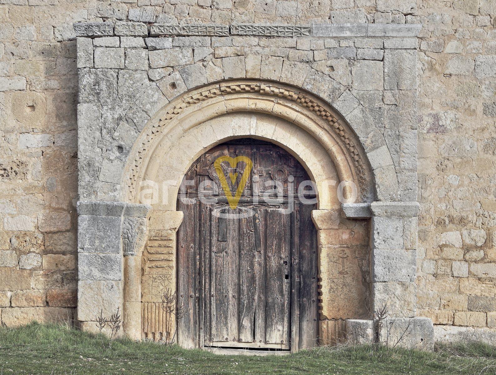portada de la ermita del santo cristo de san sebastián