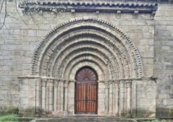 iglesia románica huerta de guadián