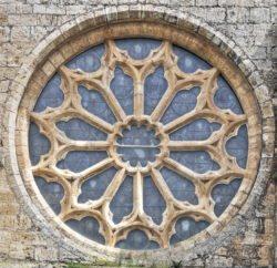 rosetón gótico