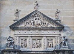 portada de la capilla del salvador ubeda