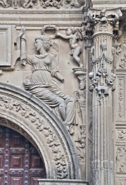 relieve de la sacra capilla del salvador