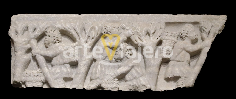 sarcófago paleocristiano