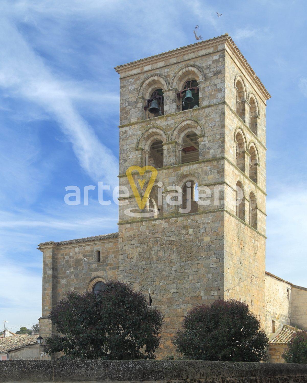 torre románica valdeolivas
