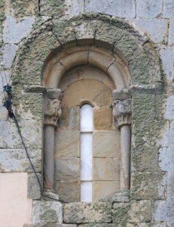 ventana románica palencia
