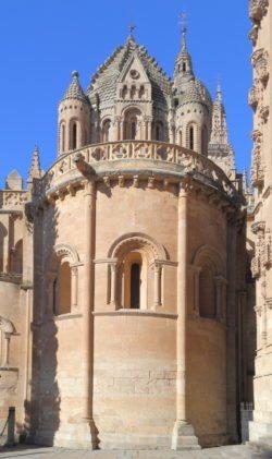 ábside de la catedral de salamanca