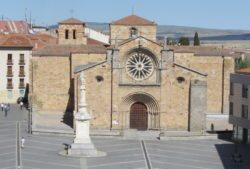 iglesia románica de san pedro, ávila