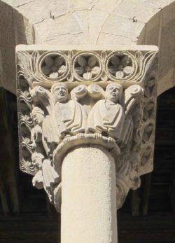 capitel de la iglesia de san martín