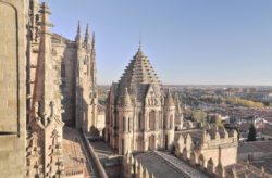 torre del gallo. cimborrio de la catedral