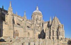 cimborrios de la catedral de salamanca