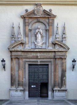 portada del convento de san jerónimo