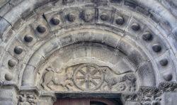 crismón románico