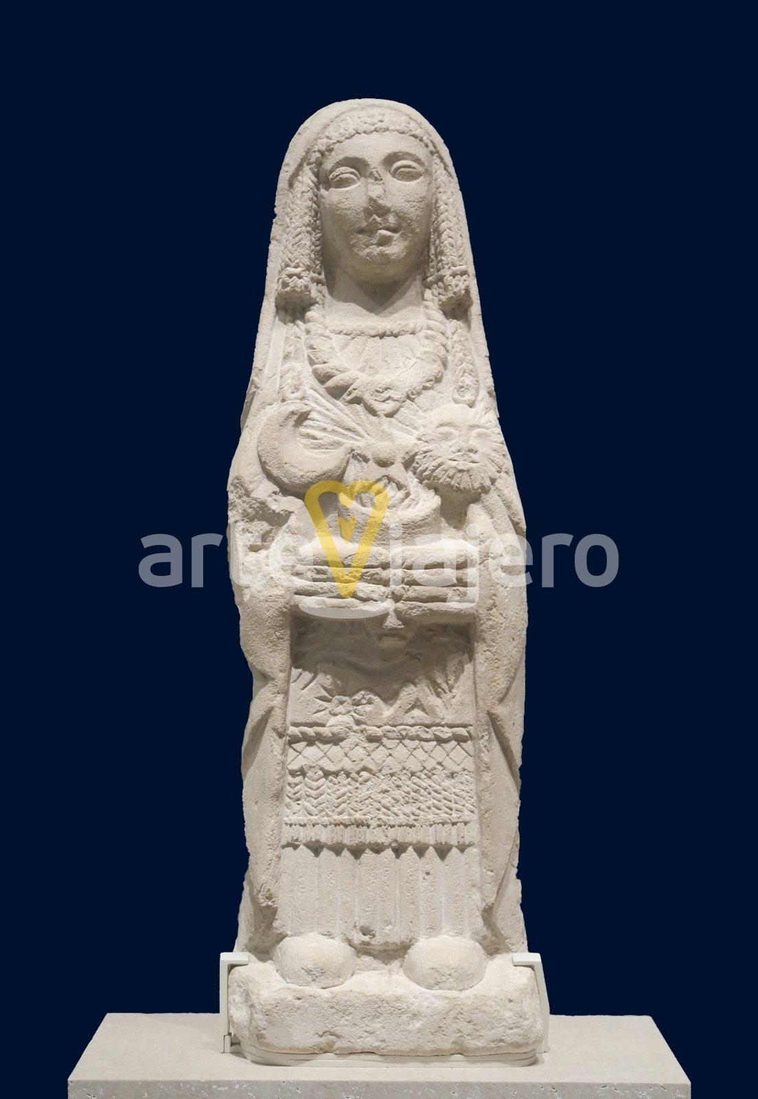dama oferente museo arqueológico