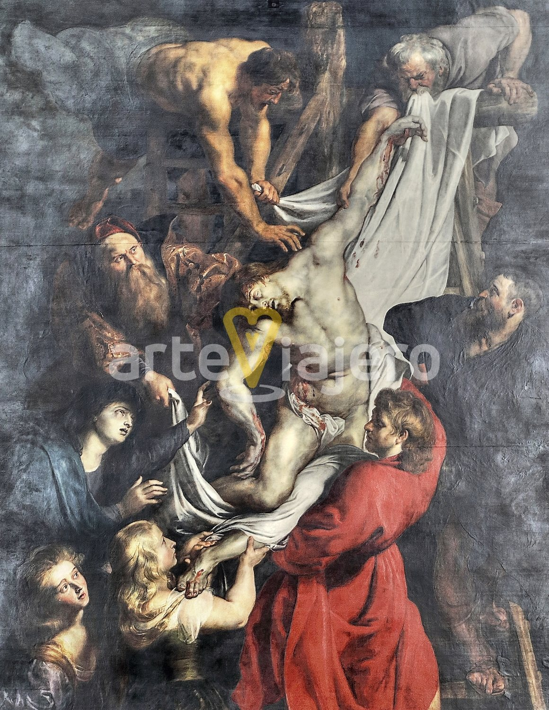 descendimiento de la cruz, peter paul rubens