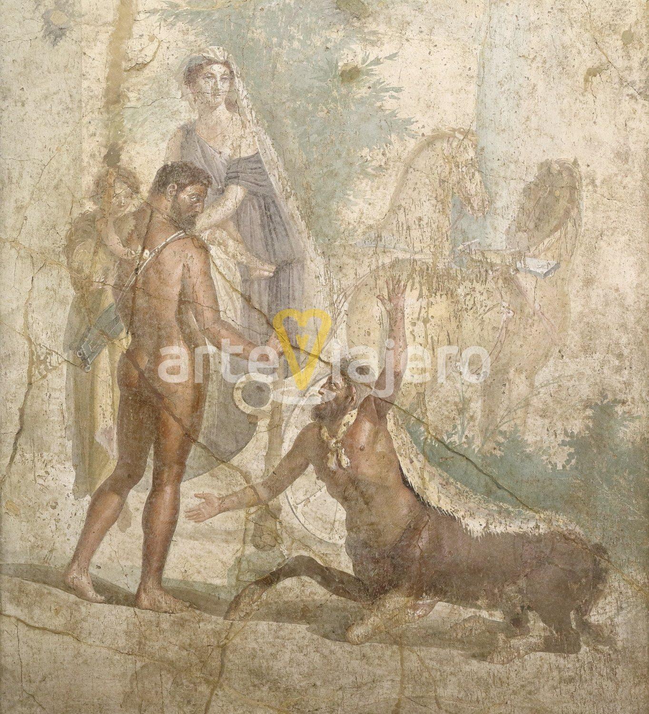 hércules con el centauro neso