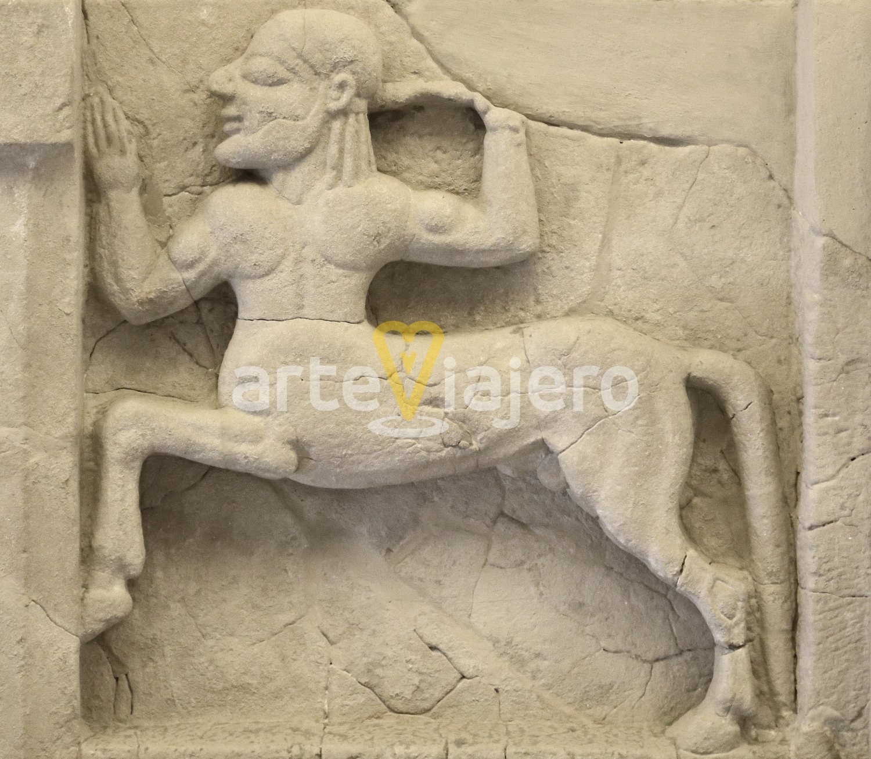 metopa con centauro