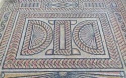mosaicos de la casa de materno, carranque