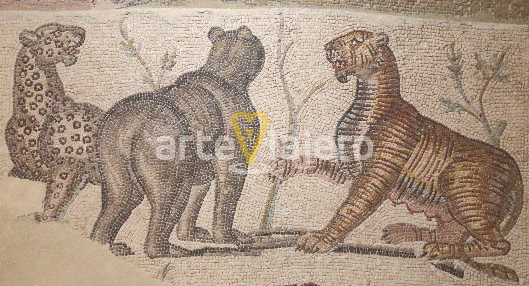 mosaico de la casa de orfeo cesaraugusta