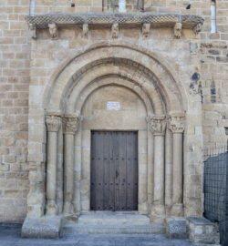 portada románica cataláin